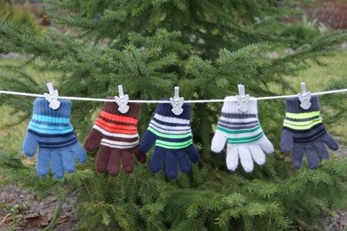 margot перчатки TAM TAM одинарная вязка (размер 80-86) - фото 5396