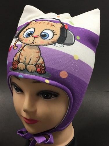 ambra шапка с утеплителем подкл.хлопок (р.48-50) - фото 5851