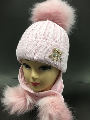 LVG шапка с у теплителем подкл.хлопок (р.50-52) - фото 5864