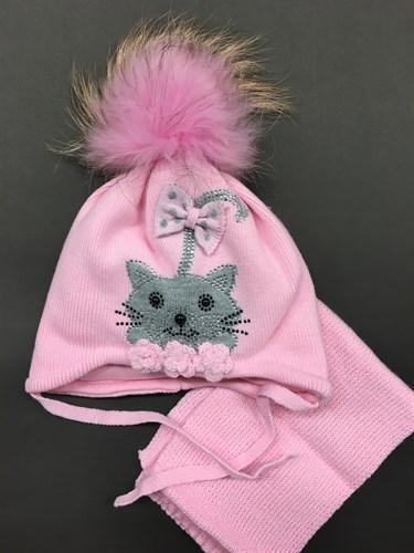 ambra шапка с утеплителем подкл.хлопок (р.42-44) - фото 6057