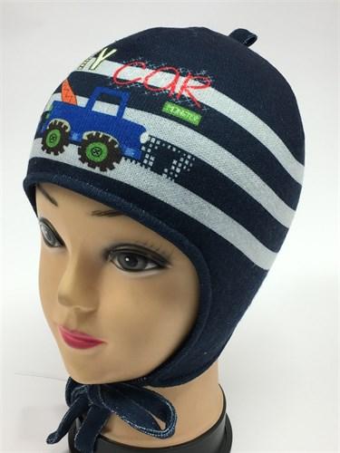 ambra шапка с утеплителем подклад хлопок (р.48-50) - фото 6092