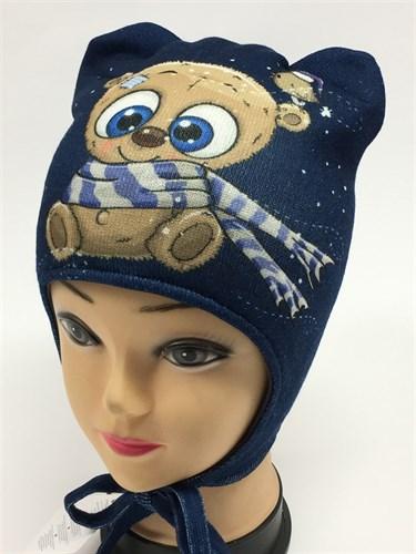 ambra шапка с утеплителем подкл.хлопок (р.48-50) - фото 6094