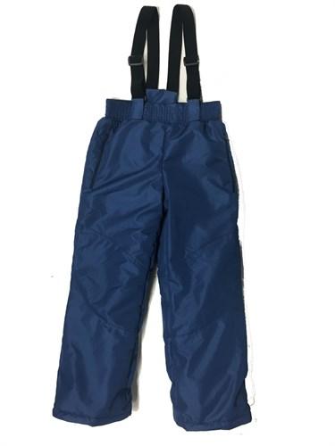 брюки зимние синие (р.32-38) - фото 6486