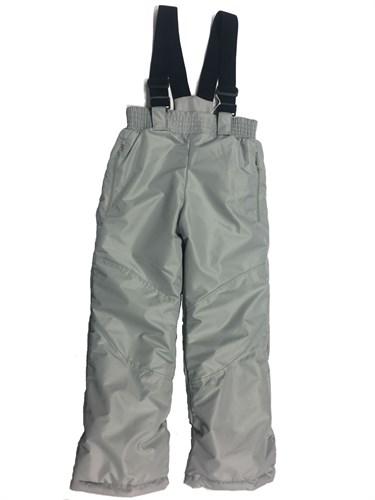брюки зимние серые (р.32-38) - фото 6689