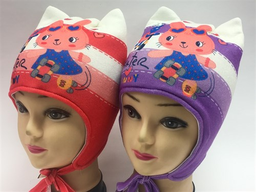 ambra шапка с утеплителем подклад хлопок (р.48-50) - фото 6994