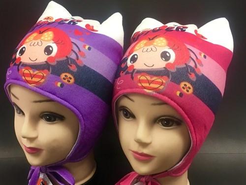 ambra шапка с утеплителем подклад хлопок (р.48-50) - фото 7006