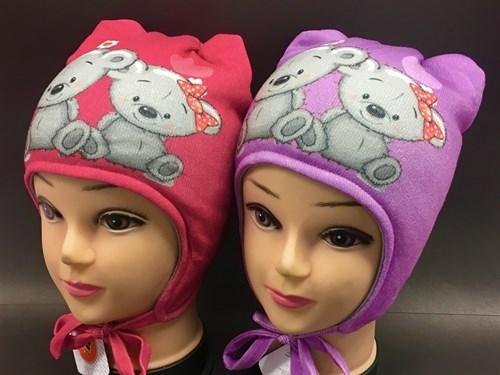 ambra шапка с утеплителем подклад хлопок (р.48-50) - фото 7008