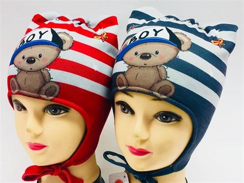 ambra шапка с утеплителем подкл.хлопок (р.48-50) - фото 7010