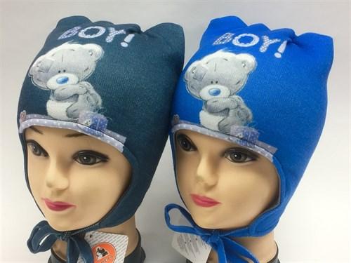 ambra шапка с утеплителем подклад хлопок (р.48-50) - фото 7012
