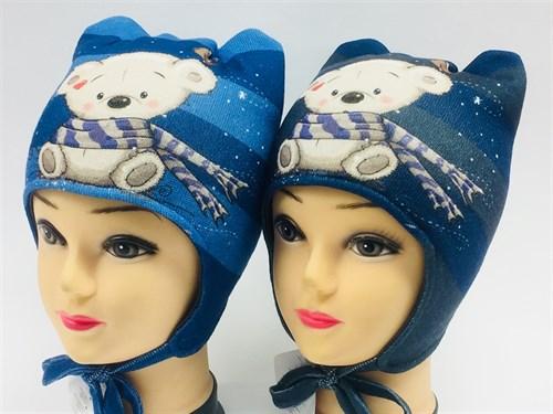 ambra шапка с утеплителем подкл.хлопок (р.48-50) - фото 7016