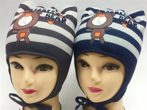 ambra шапка с утеплителем подклад хлопок (р.48-50) - фото 7018