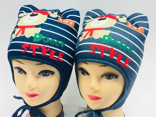 ambra шапка с утеплителем подклад хлопок (р.48-50) - фото 7024