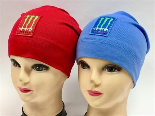 ambra шапка одинарный трикотаж с защипом (р.50-52) - фото 7055