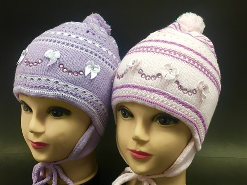 AGBO шапка двойная вязка (р.48-50) - фото 7066