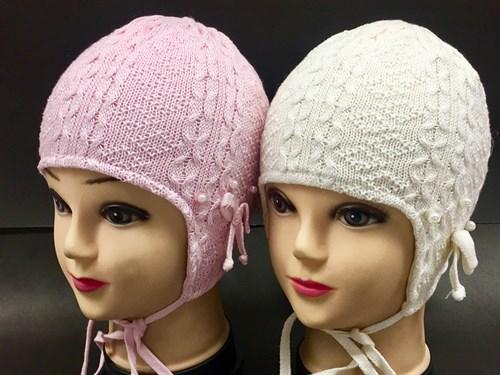 Barbaras модель U 61 шапка вязаная, подклад хлопок (р.44-48) - фото 7168