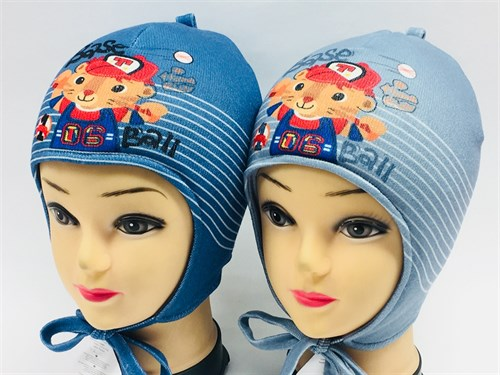 ambra шапка с утеплителем подклад хлопок (р.48-50) - фото 7193