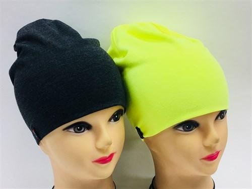 Margot Bis шапка 8819 двойной трикотаж (р.52-54) - фото 7345
