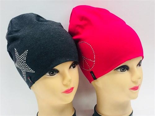 Margot Bis шапка 8894 двойной трикотаж (р.52-54) - фото 7347