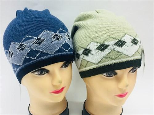 AGBO шапка одинарн.вязка (р.52-54)серая - фото 7549