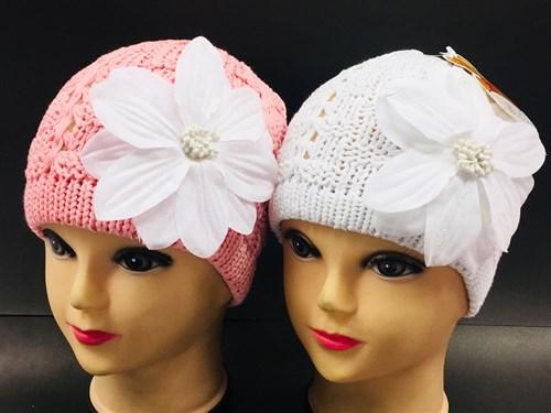 ANPA модель L32 шапка ажурная вязка (р.52-54) - фото 7955