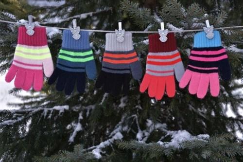 margot перчатки KARO одинарная вязка (размер 14) - фото 8130