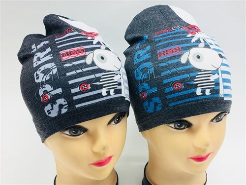 ambra шапка одинарный трикотаж (р.48-50) Sport - фото 8192