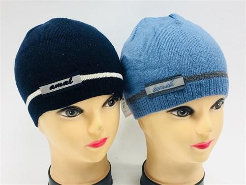 amal шапка одинарная вязка (отражатель)(р.50-52) - фото 8283