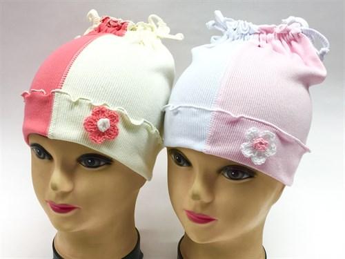 Boys Girls шапка одинарный трикотаж (шторка)(р.48-50) - фото 8607