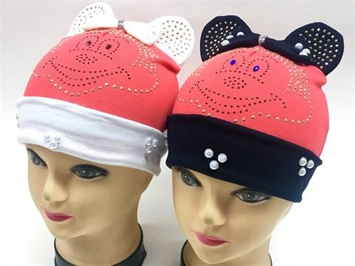шапка одинарный трикотаж (р.48-50) мордочка - фото 8623