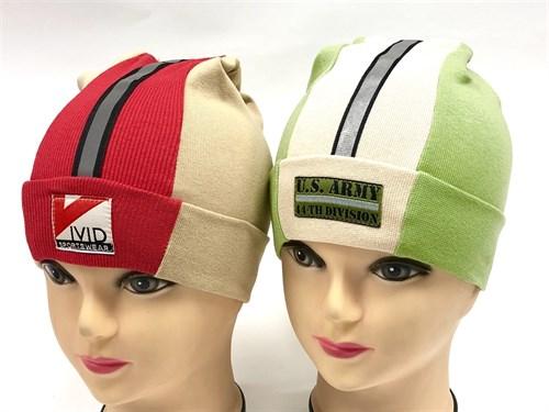 BG шапка одинарный трикотаж с отражателем (р.50-52) - фото 9738