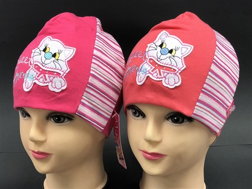 MP шапка двойн.трикотаж (котенок)(р.50-52) - фото 9758
