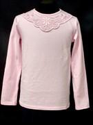 блузка ЛЮТИК модель 10101 трикотажная, розовая (р.122,128,134,140,146)