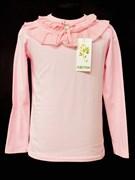 блузка ЛЮТИК модель 10103 трикотажная, розовая (р.122,128,134,140,146)