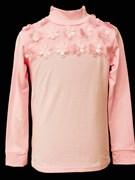 блузка ЛЮТИК модель 10106 трикотажная, розовая (р.122,128,134,140,146)