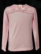 блузка ЛЮТИК модель 10105 трикотажная, розовая (р.122,128,134,140,146)