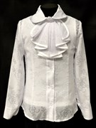 блузка ЛЮТИК модель 20153 длин рукав с маечкой (рост128,134,140,146,152)