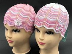 amal шапка ажурная вязка (р.48-50) узор елочка