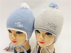 Barbaras модель WP 303/ME шапка с утеплителем, подклад хлопок (р.44-46)