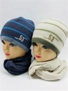 AGBO комплект Kpl3 шапка подкл.флис+шарф (р.52-54)