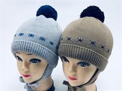 Прикиндер шапка M3-1351 шапка с утеплителем (р.48-50)