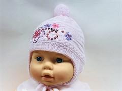 Paola шапка вязка' флис (р.36-38)