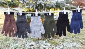 margot перчатки EXTRAS одинарная вязка (размер 16)