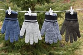 margot перчатки DYLAN двойная вязка (размер 16)