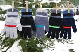 margot перчатки TAHOR с флисом внутри (размер 16, 9-10лет)