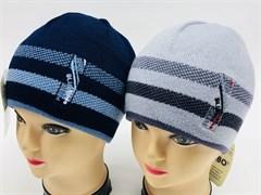 AGBO шапка  86 EMIL двойн.вязка (р.52-54)