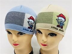 GRANS шапка KB 42 одинарн.вязка (р.44-46)