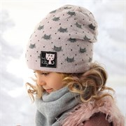 .AJS шапка 36-355 подкл.флис (р.52-54)