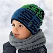 .AJS шапка 36-404 подкл.флис (р.52-54)