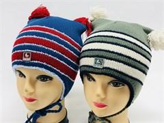 GRANS комплект шапка двойн.вязка + шарф (р.46-48)