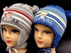 Politano шапка двойная вязка (р.48-50)